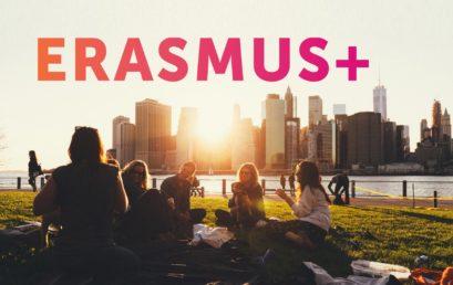 Inscrições abertas para o Programa Erasmus+