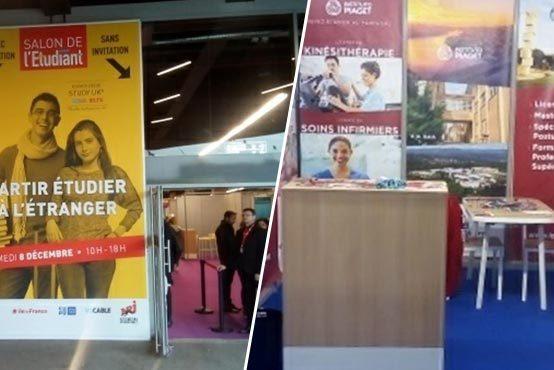 """Instituto Piaget no """"Salon de l'Étudiant – Partir Étudier à l'Étranger"""" em Paris"""