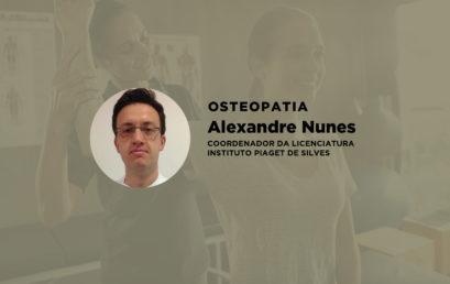 Entrevista ao Coordenador de Osteopatia