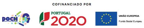 Este projecto tem o cofinanciamento do POCH, Portugal 2020 e União Europeia
