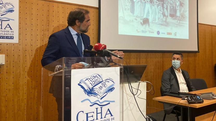 Presidente do Governo da Madeira na abertura de pós-graduação do Piaget