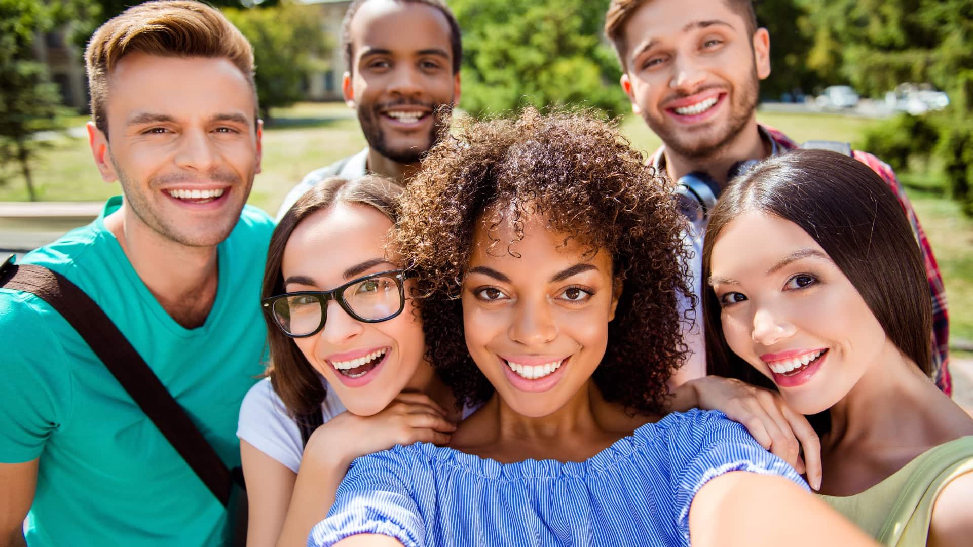 Candidaturas para estudantes internacionais de portas abertas