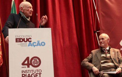 Piaget associa-se aos 100 anos de Edgar Morin